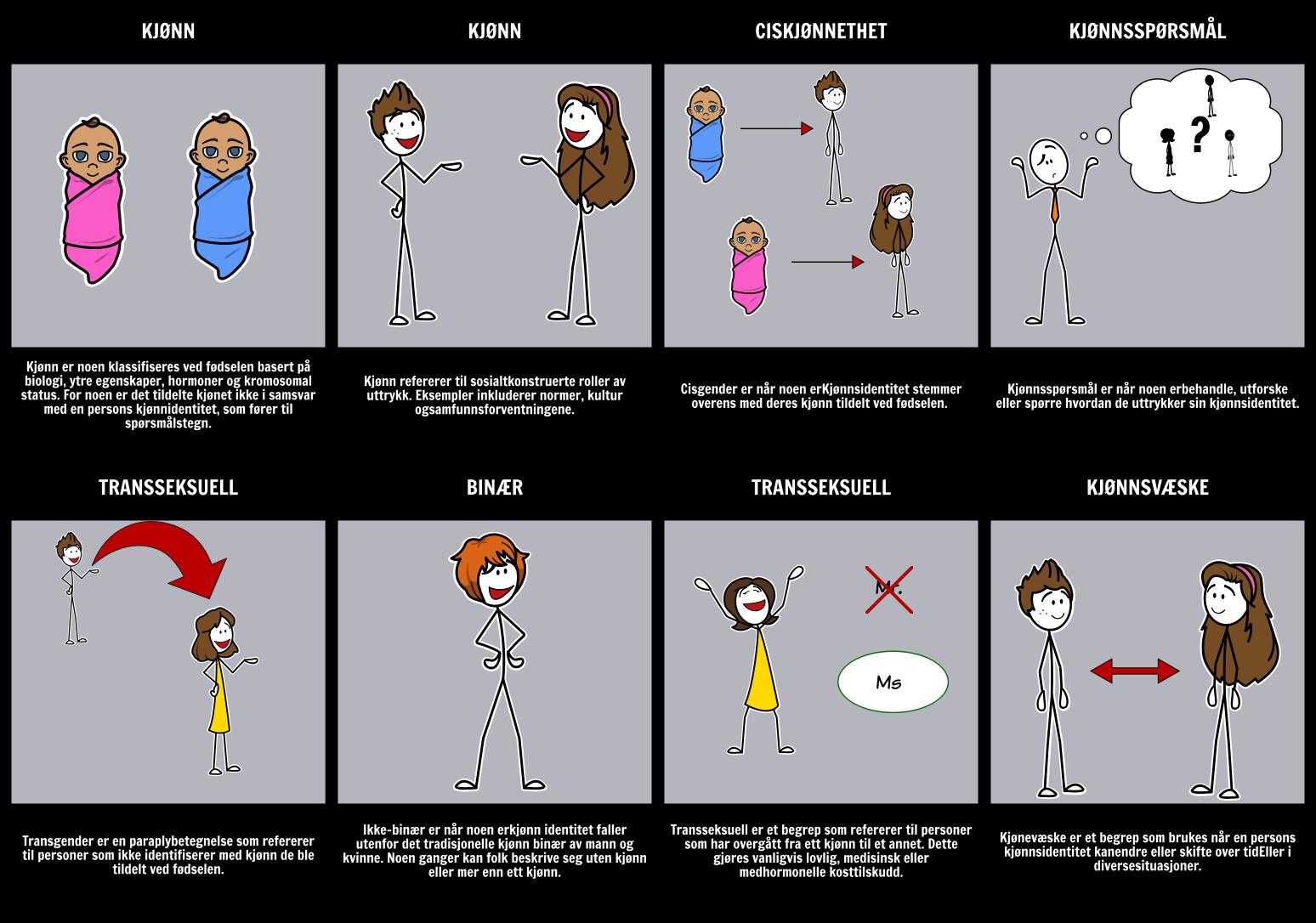 Kjønnsterminologi