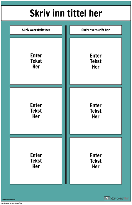 T-diagramplakat