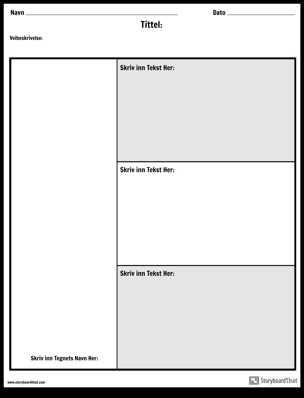 Tegnoversikt - 3 Spørsmål