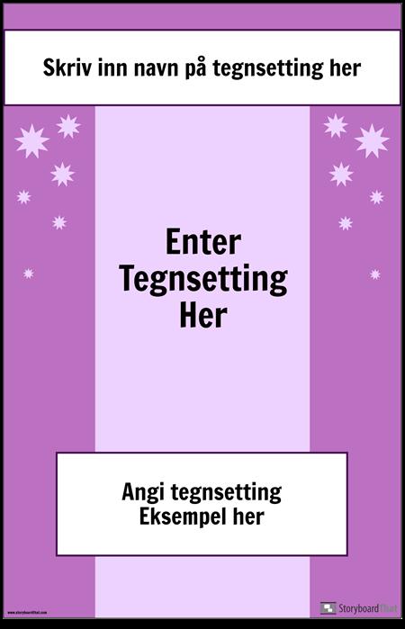Tegnsetting Poster 2