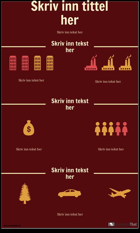 Vitenskap Infographic mal