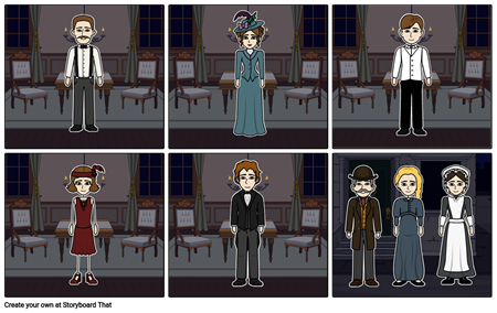 An Inspector Calls Characters