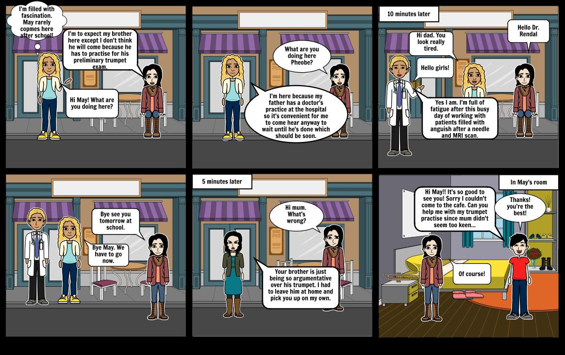 Health Comic Strip by Olivia Lee