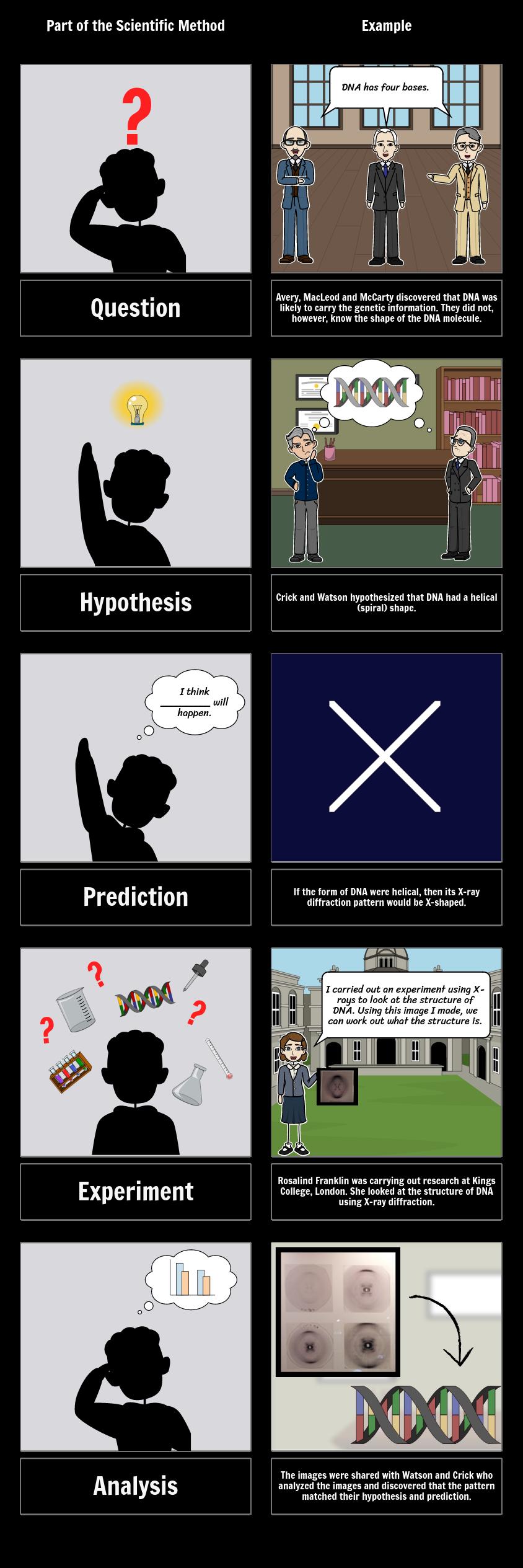 Wissenschaftliche Methode Schritte für Klassenzimmer ...