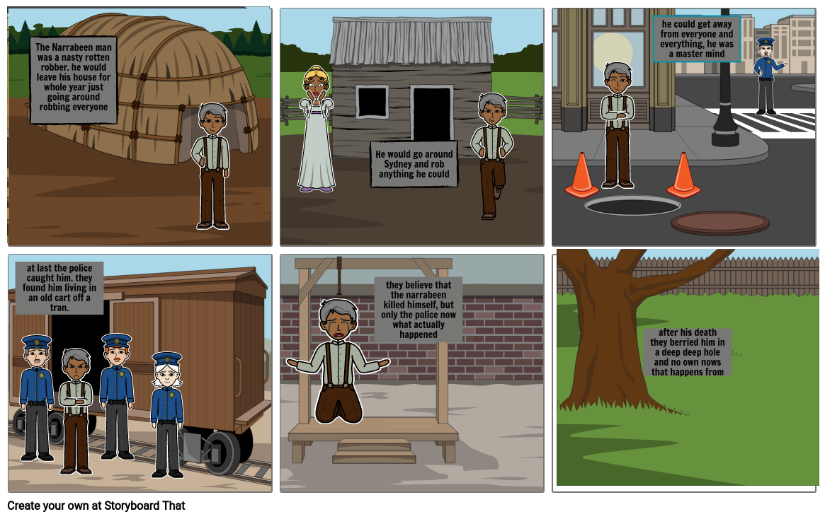 olivers storyboard