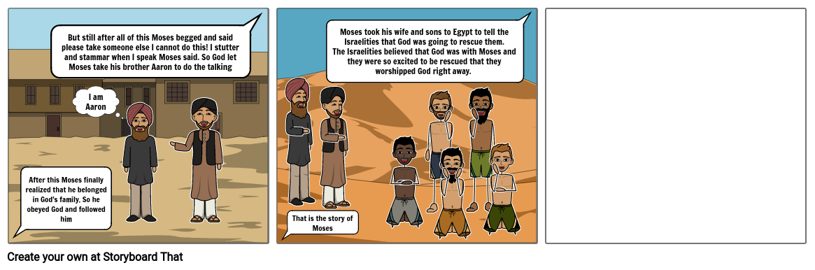 Religion - The Story of Moses part 2
