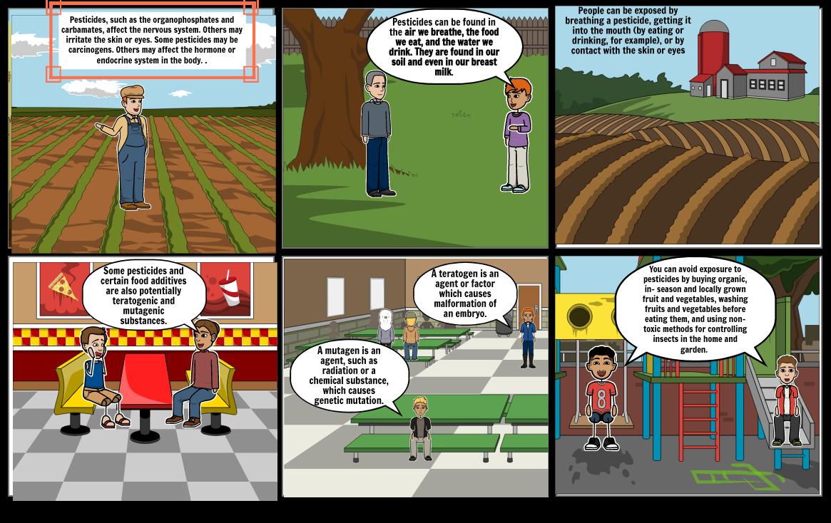 Science Comic- Pesticides