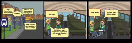 bus ride to school