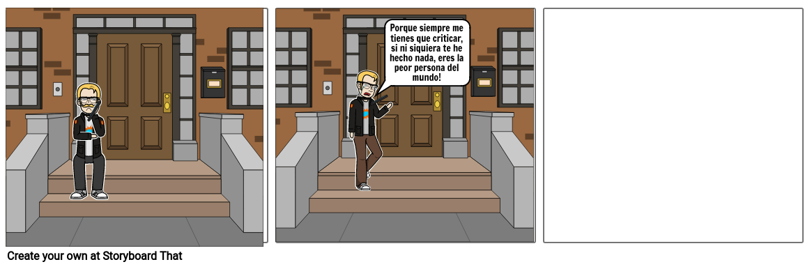 Mi comic of ciber bullyng