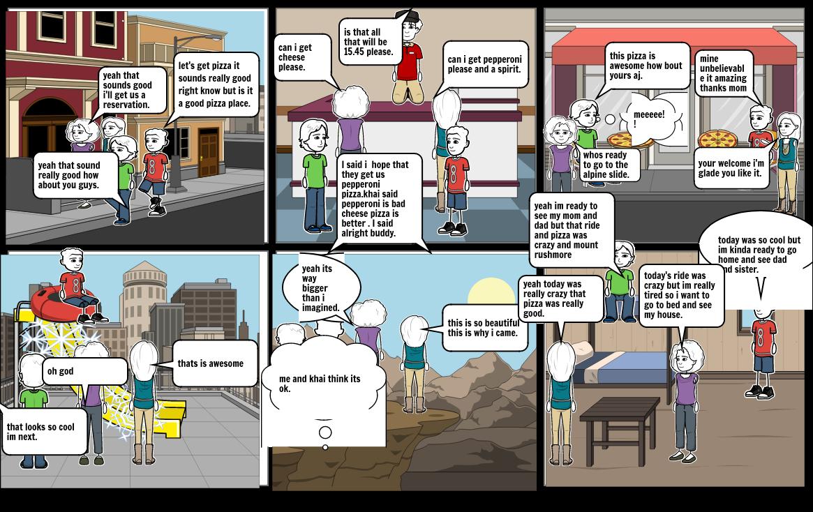 AJ- Personal Narrative Storyboard