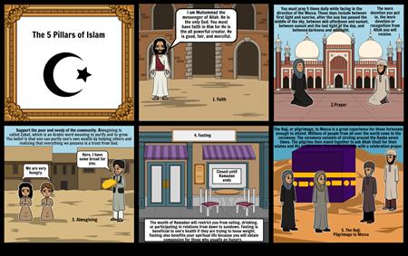 The 5 Pillars of Islam