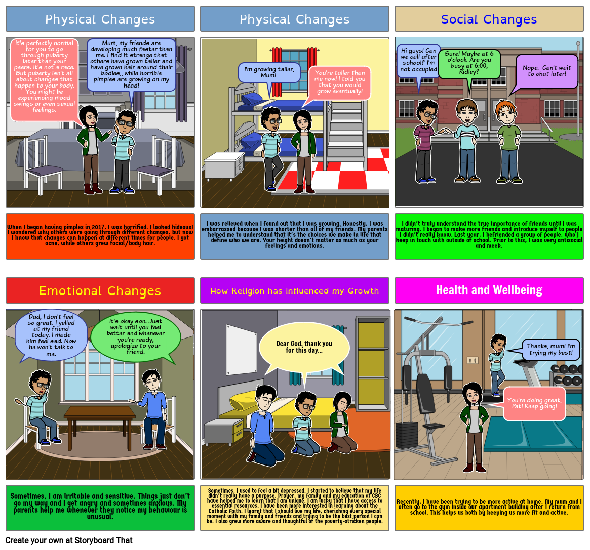 Changes Storyboard by patrickpcbc