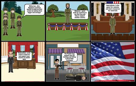 World war 1 story