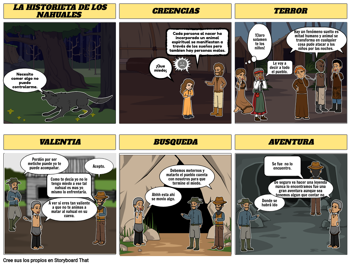 historieta de los nahuales Natali Monserat Maga;a Cobarrubias