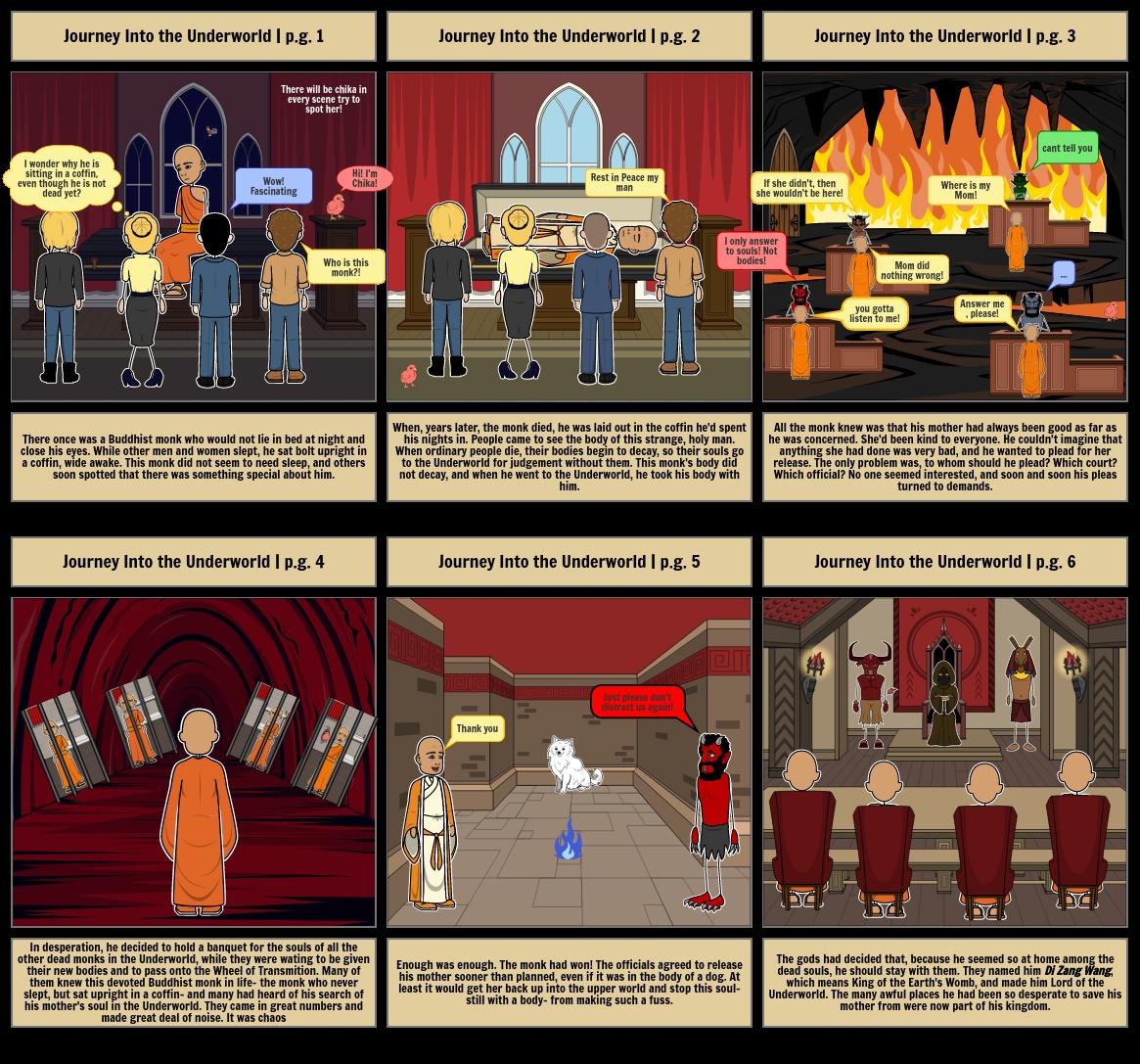 Journey Into the Underworld | English