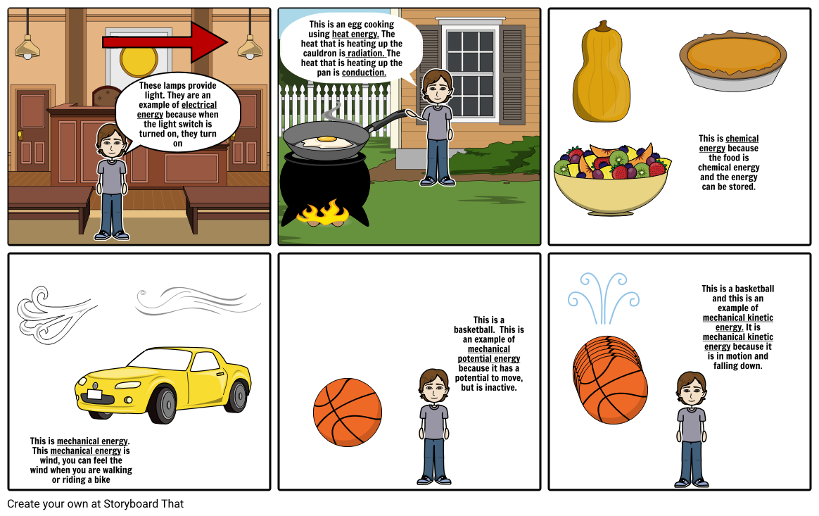 Science Storyboard Project
