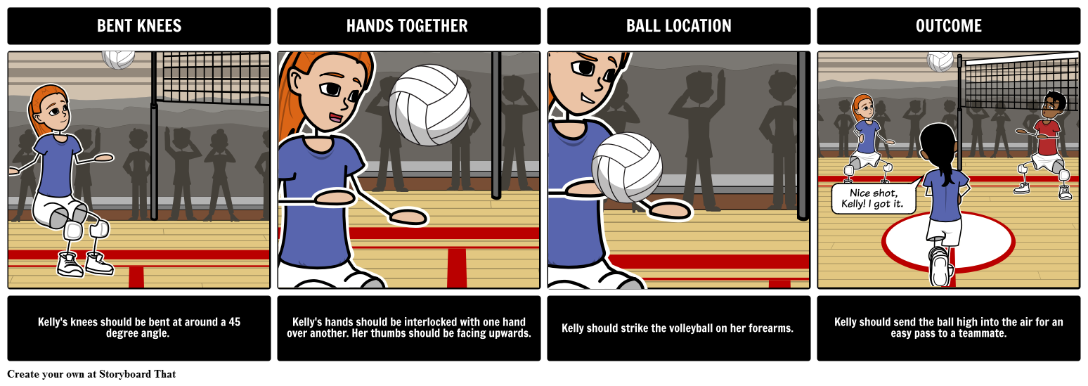 Psychomotor Domain Volleyball Form