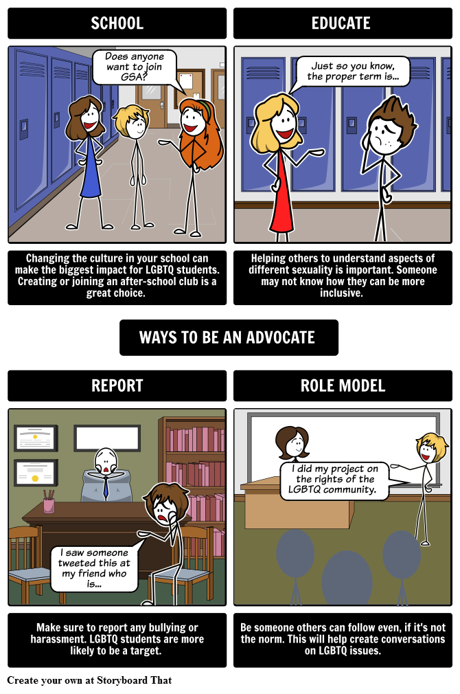 Ways to be an Advocate