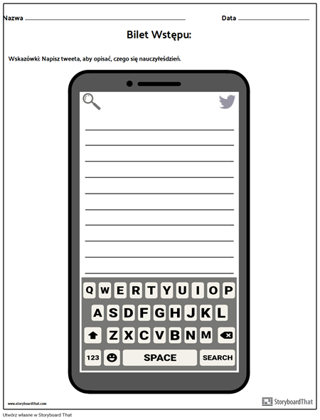 Exit Ticket - Social Media