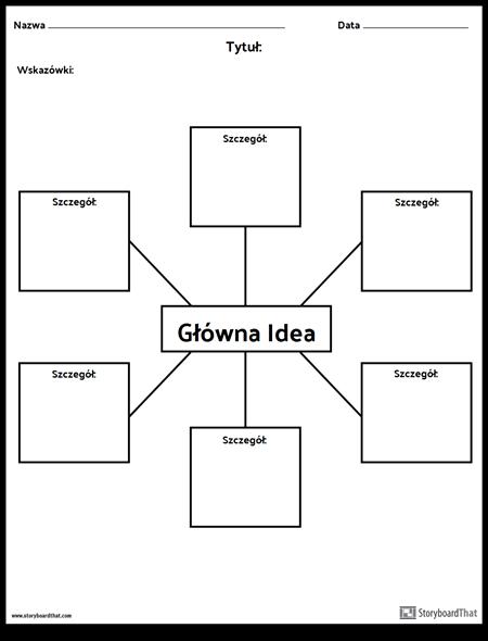 Główna Idea - Pająk