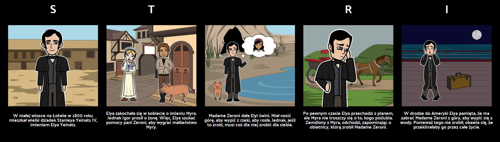 Otwory - Opowieść o Jeleniejkach Elya