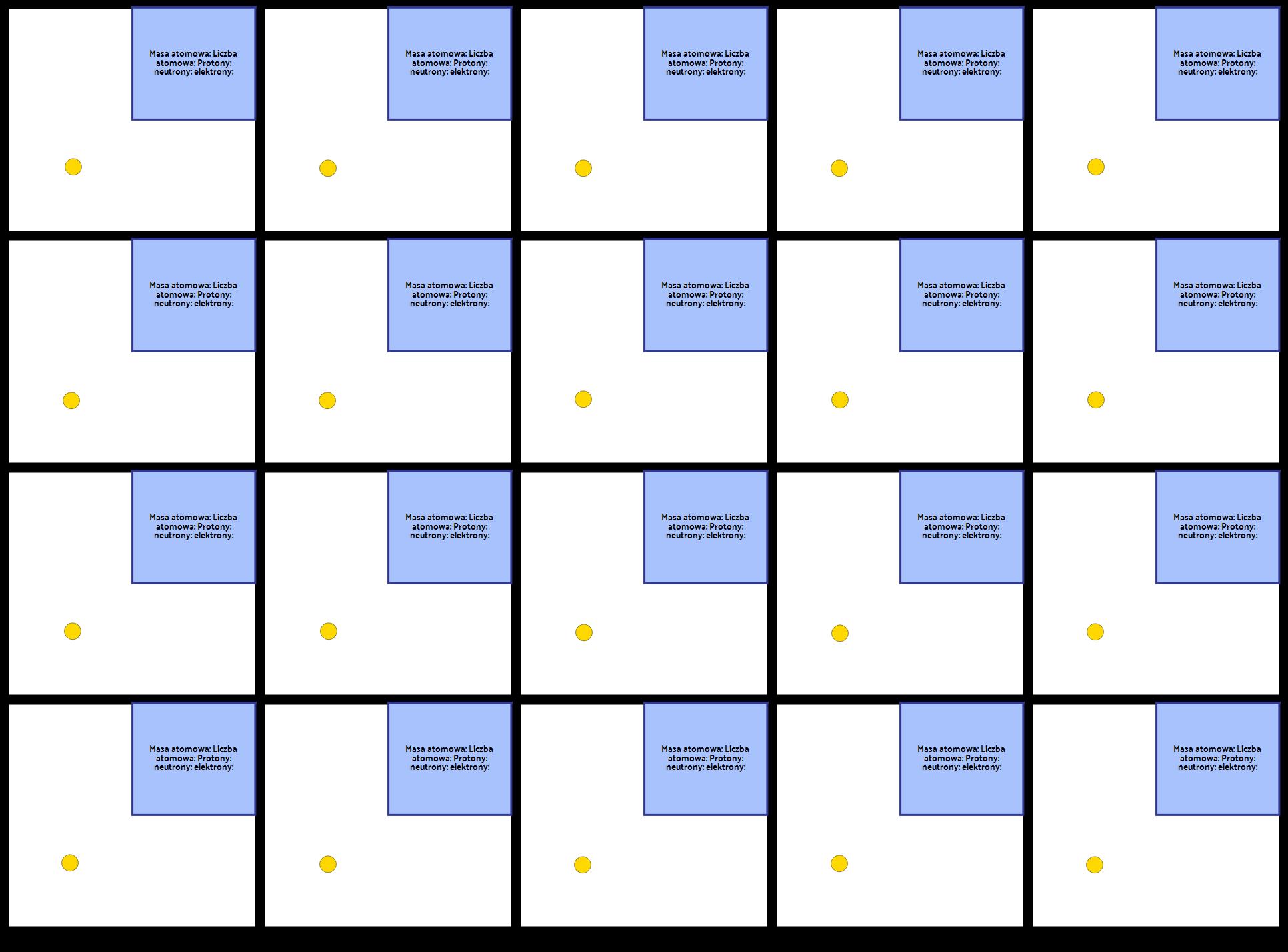 Pierwszy Szablon 20 Elementów