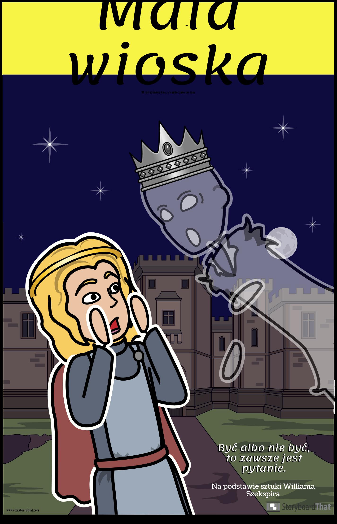 Plakat Hamleta ELA