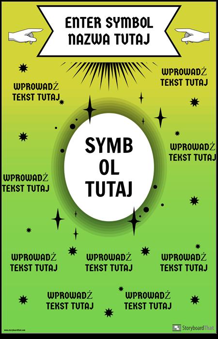 Plakat Symbol Matematyki