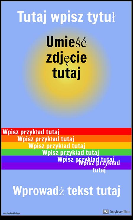 Plakat Wizualny Vocab