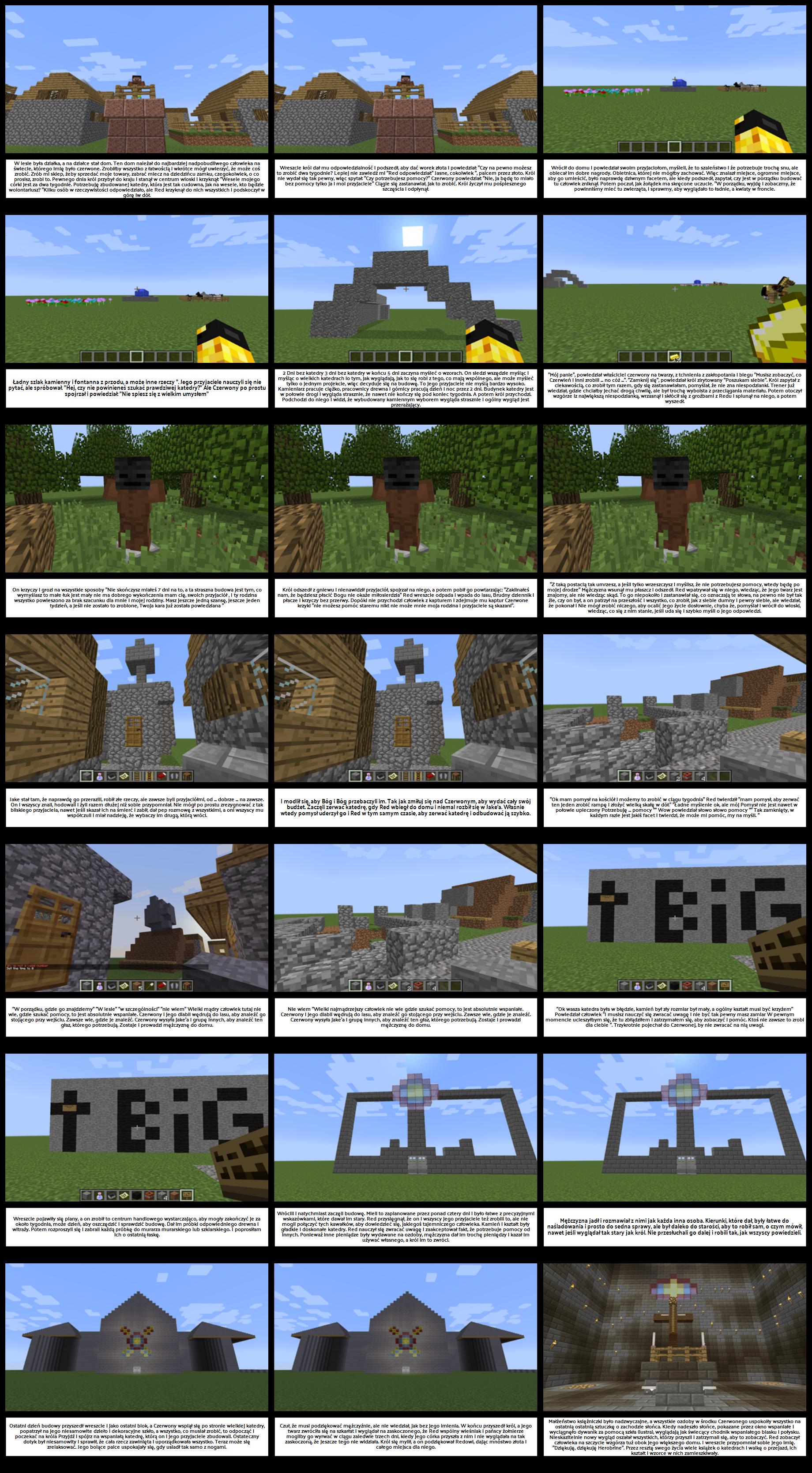 Przykład Studenta Minecrafta