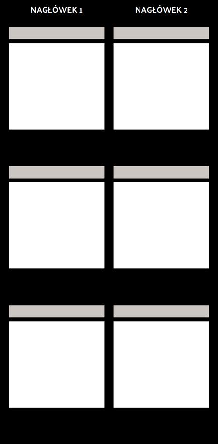 Pusty Porównanie T-Chart
