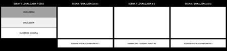 Scene Planner Przykład