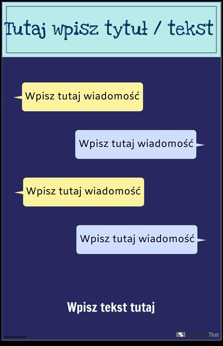 SMS-y Szablon PSA