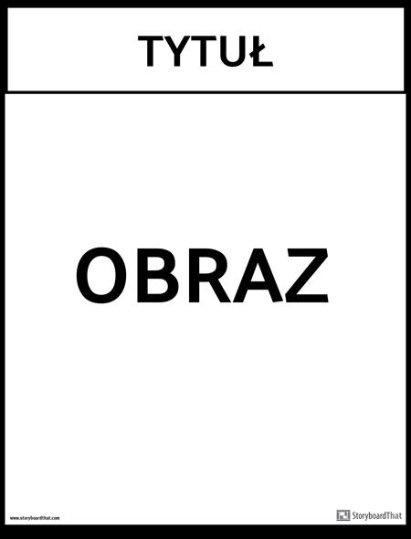 szablon biurowy plakat