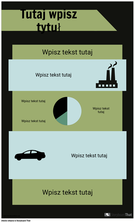 Szablon Infografiki PSA