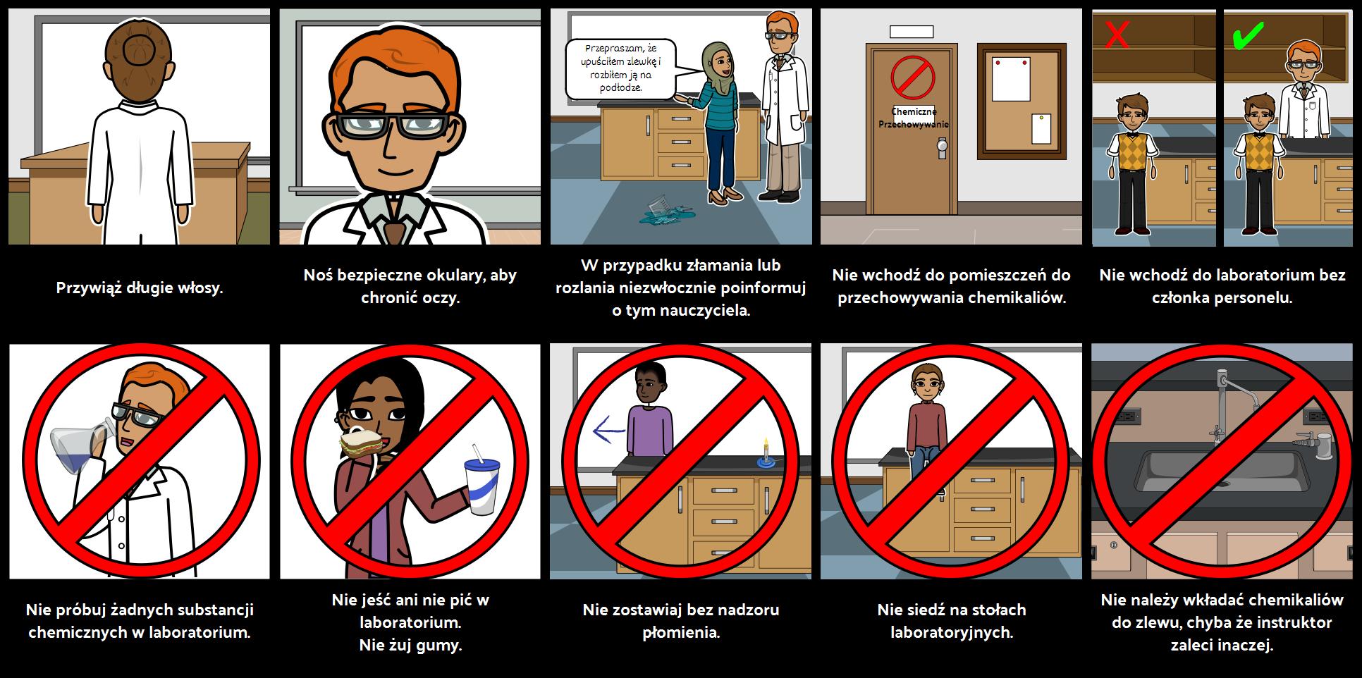 Zasady Bezpieczeństwa Laboratorium