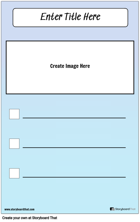 Checklist with Picture