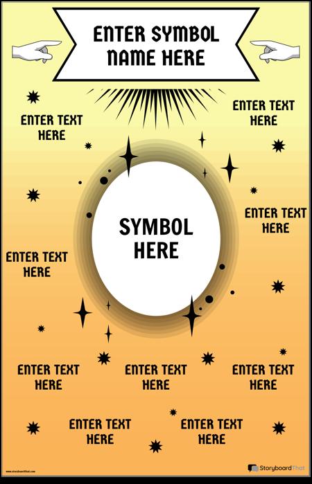 Math Symbol Poster
