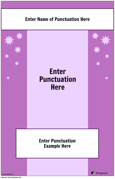 Punctuation Poster 2