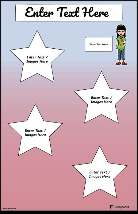Star Travel Poster