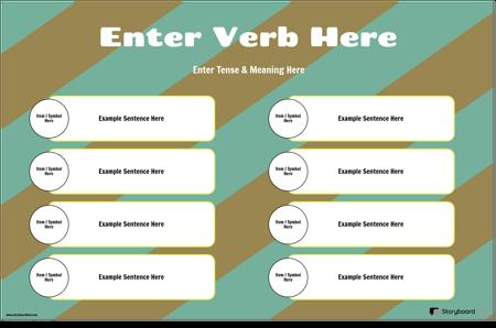 Verb Conjugation With Sentences