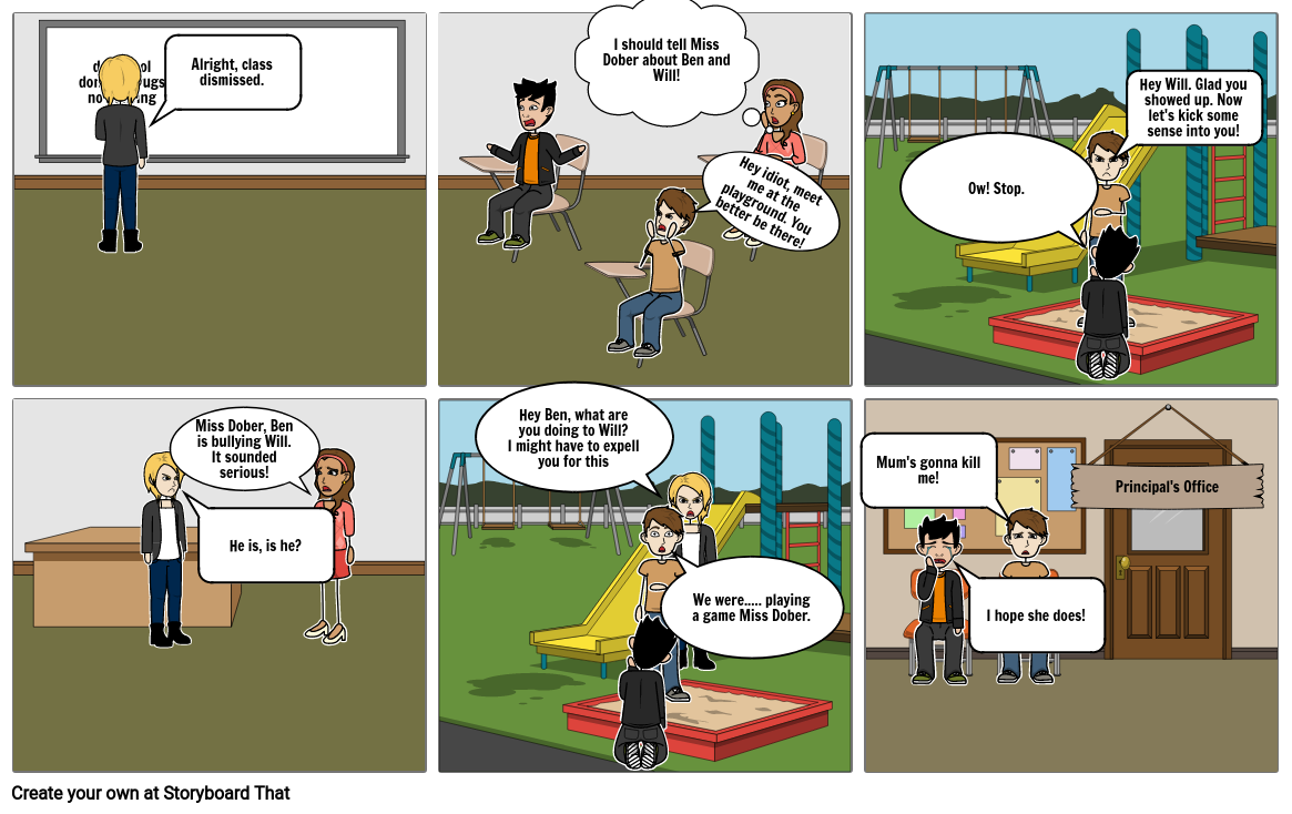 Charlie Year 8 Health Bullying Assignment