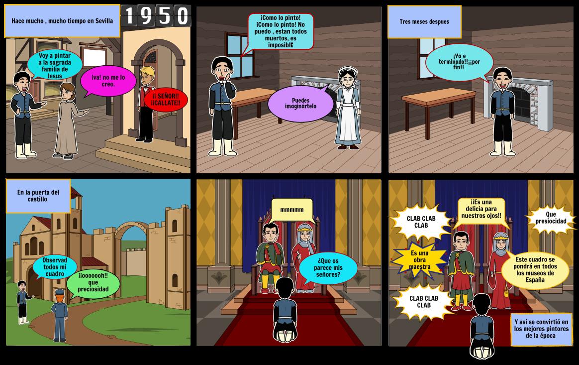 La historia de la pintura de Murillo