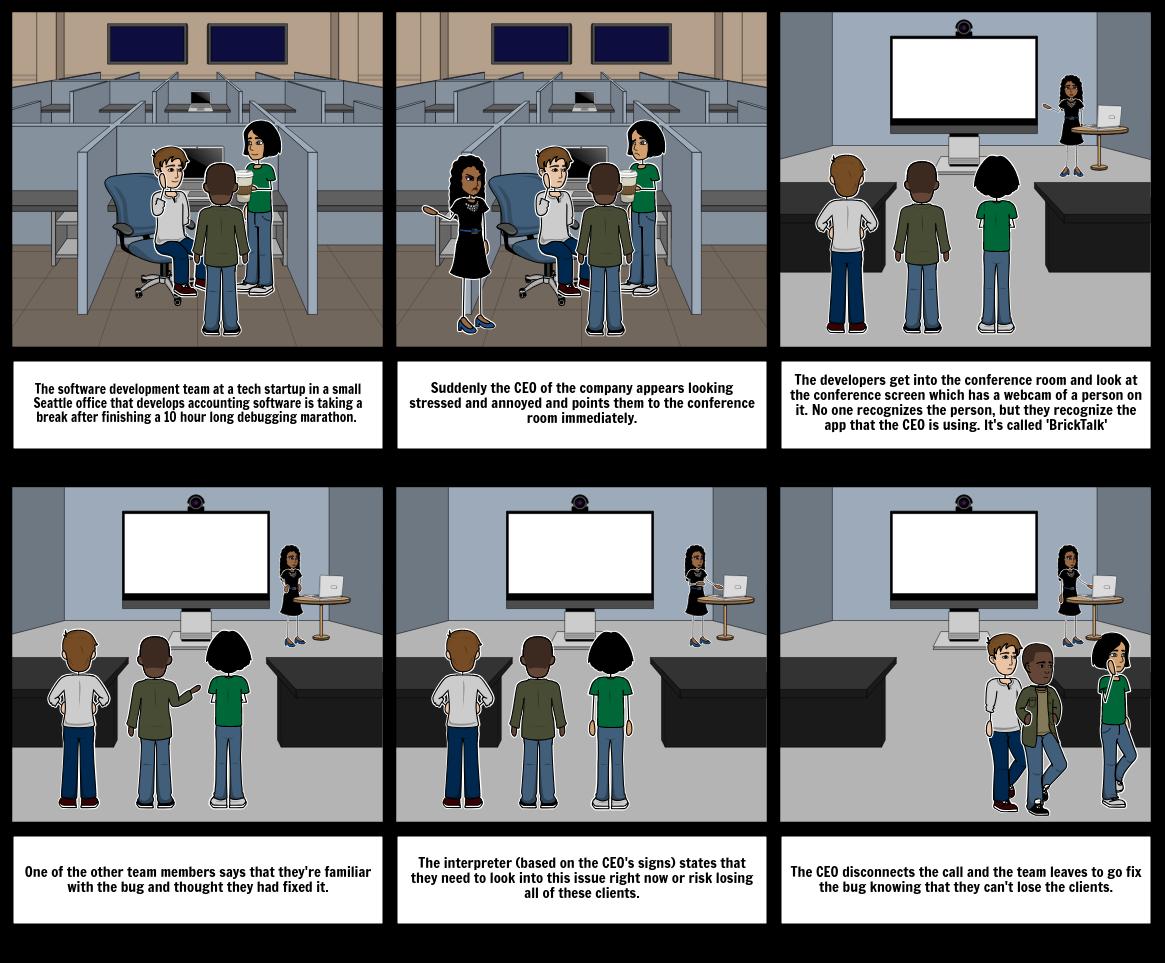 User Scenario for BrickTalk