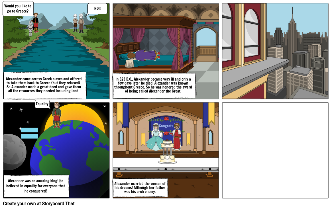 Comic Strip Part 4/5 World History