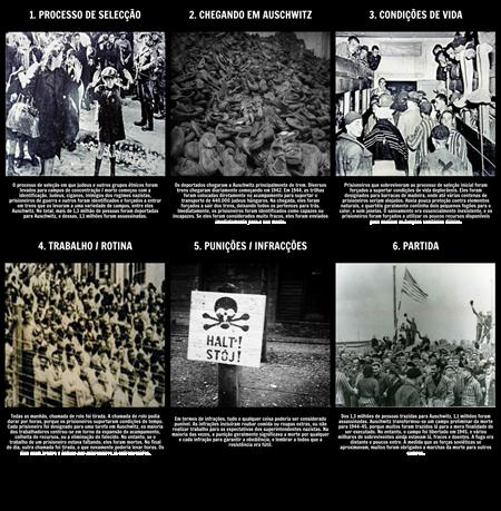 A História do Holocausto - A Vida em Auschwitz
