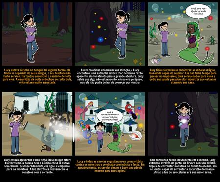 Atividades de Halloween - Starter Story