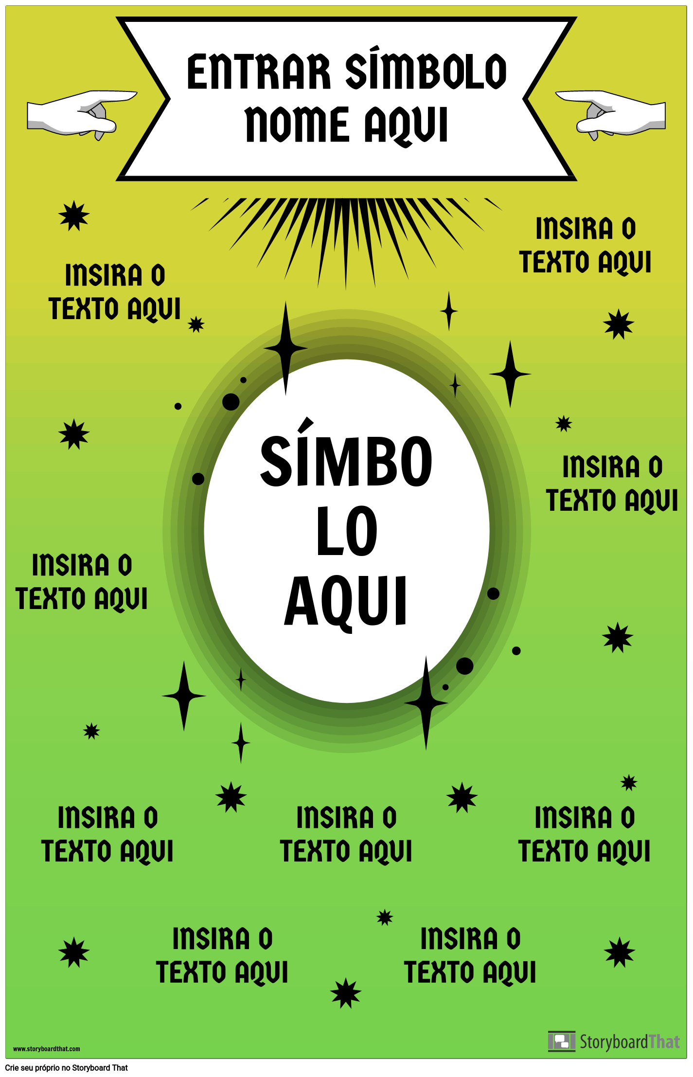 Cartaz do Símbolo da Matemática