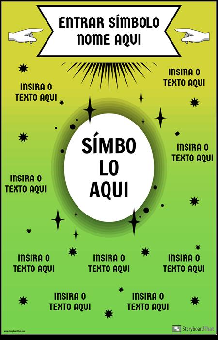 Cartaz do Símbolo da Matemática