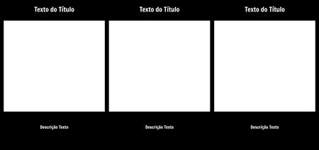 Célula em branco com título-descrição